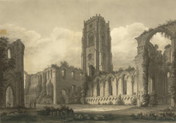 Fountains Abbey in Yorkshire